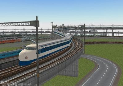 KATOレイアウトプラン集6-9新幹線0系-1
