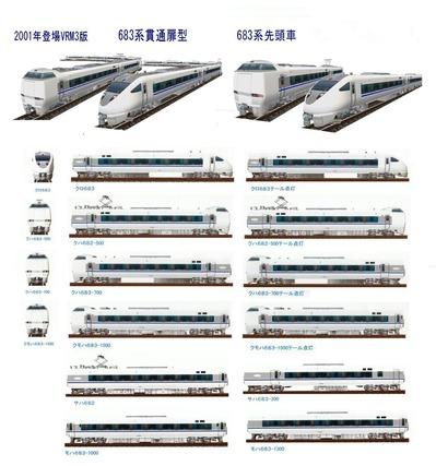 VRM3版 683系カタログ1