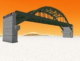 中路式アーチ橋9