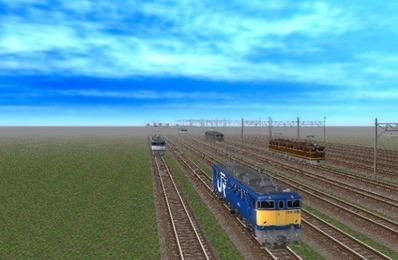 VRM5貨物牽引機関車動画から4