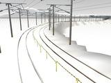 雪景色と貨物交換駅レイアウト59.jpg