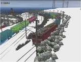 雪景色完成その26見張線7