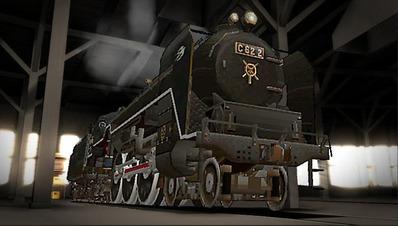 MMD鉄道でC62をつくるEjimaさん16