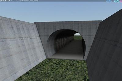 VRMNXトンネル部品から1