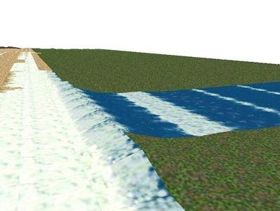 5編成並走見張線海岸線砂浜11