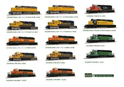 アメリカンディーゼル機関車SD40-2KATO1-60