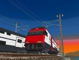スイス国鉄IC2000二階建て客車10.