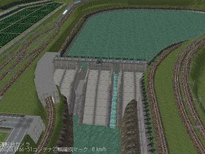 現代ローカル風景ダム11