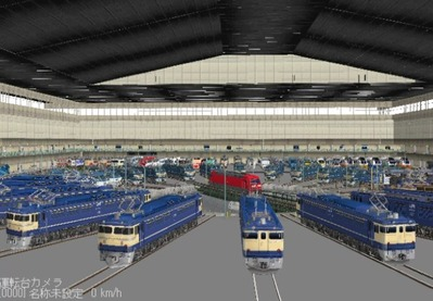 VRM3版車両博物館屋根有り8