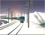 雪景色完成その12 EF58-138-4