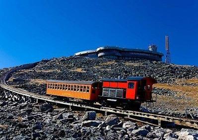 ワシントン山コグ鉄道2