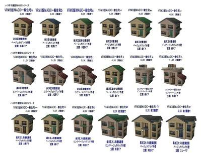 KATOユニトラックレイアウトプラン右側住宅カタログ1