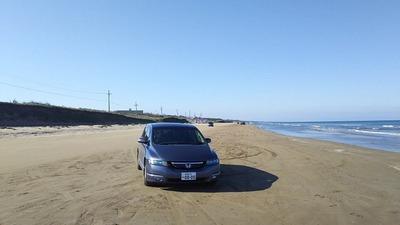 能登半島3千里浜なぎさドライブウェイ3