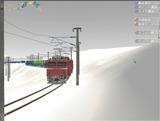 雪景色と貨物交換駅レイアウト63.jpg