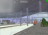 北の貨物駅通過中Ef65重連4