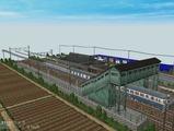跨線橋の駅部品レイアウト720x480その6
