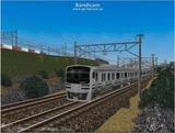 進撃の通勤電車40  JRE217系二階建て1