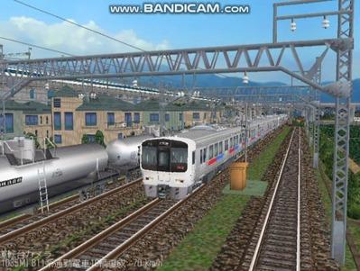 越河レイアウト電車シリーズ67-811系JR九州電車1