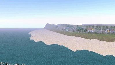 5編成並走見張線海岸線9