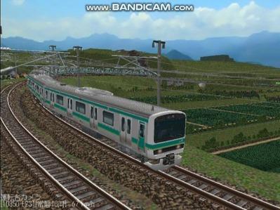 越河レイアウト電車シリーズ72-E231系常磐線7
