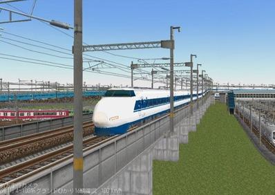 KATOレイアウトプラン集6-9東海道新幹線100系ひかり8