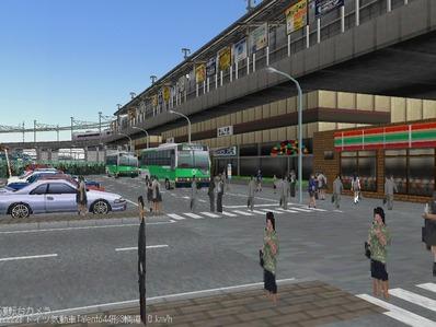 ななついろひとときVRM3レイアウト最終5高架駅4
