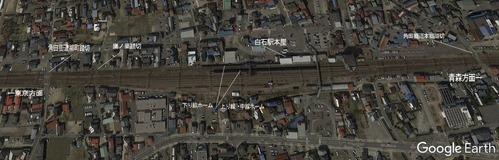 東北本線白石駅図2