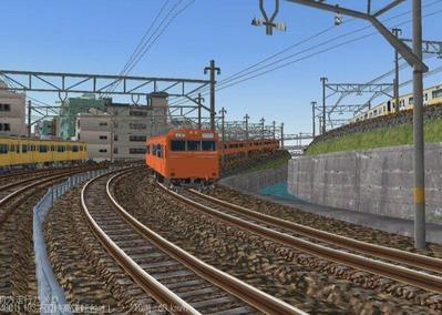 KATOレイアウトプラン6-9-103系高運転台オレンジ色4