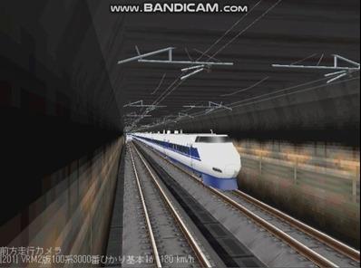 越河レイアウト東北新幹線100系VRM2版1