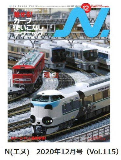Nエヌ2020年12月号(Vol・115)表紙1