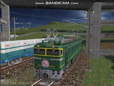 越河レイアウト夜汽車シリーズ4-EF81113トワイライト6