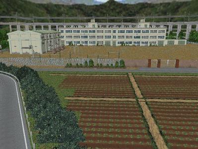 白石駅構内完成形上り方面4中学校1
