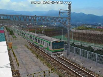 越河レイアウト電車シリーズ75-E231系近郊電車3