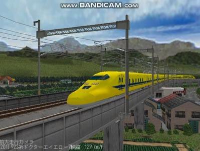越河レイアウト東北新幹線923系ドクターイエロー5