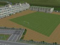 越河駅レイアウト高校サッカーグランド2