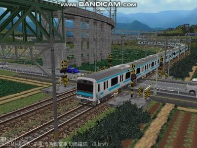 越河レイアウト電車シリーズ79-209系京浜東北線6
