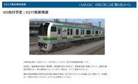 VRMonLINE-E217系-東海道線