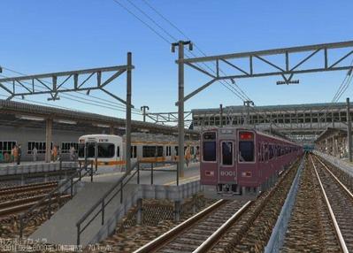 KATOレイアウトプラン6-9-阪急8000形3