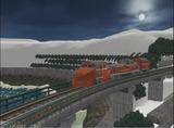 待避線レイアウト追加ローカル線DE15ラッセル-1