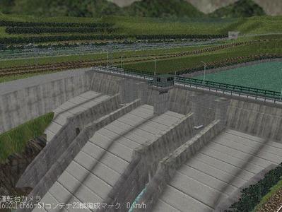 現代ローカル風景ダム7
