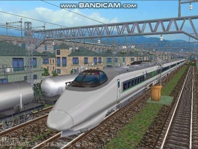 越河レイアウト特急シリーズ60-400系つばさ山形新幹線1