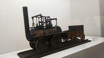 鉄博75−ロコモーション号蒸気機関車