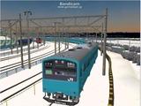 進撃の通勤電車8 201系3
