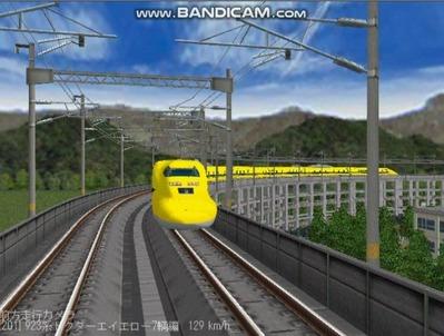 越河レイアウト東北新幹線923系ドクターイエロー7