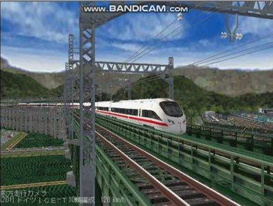 越河レイアウト東北新幹線ICI-T411-6