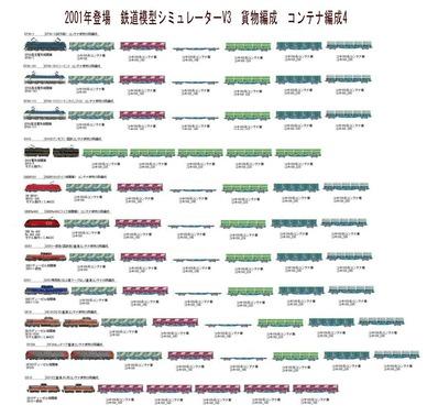 VRM3版貨物編成コンテナ4