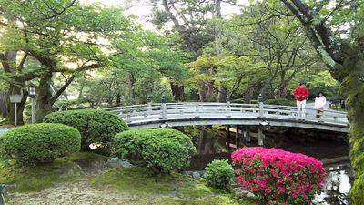 兼六園曲水その2花見橋