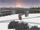 雪景色完成その22 DE10重連8
