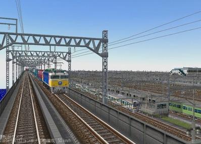 KATOユニトラックレイアウトプラン集6-9貨物線上り線2