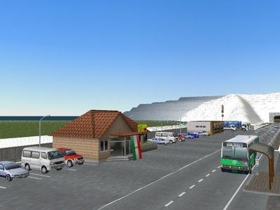 仮想日本海縦幹線雪景色国道制作2